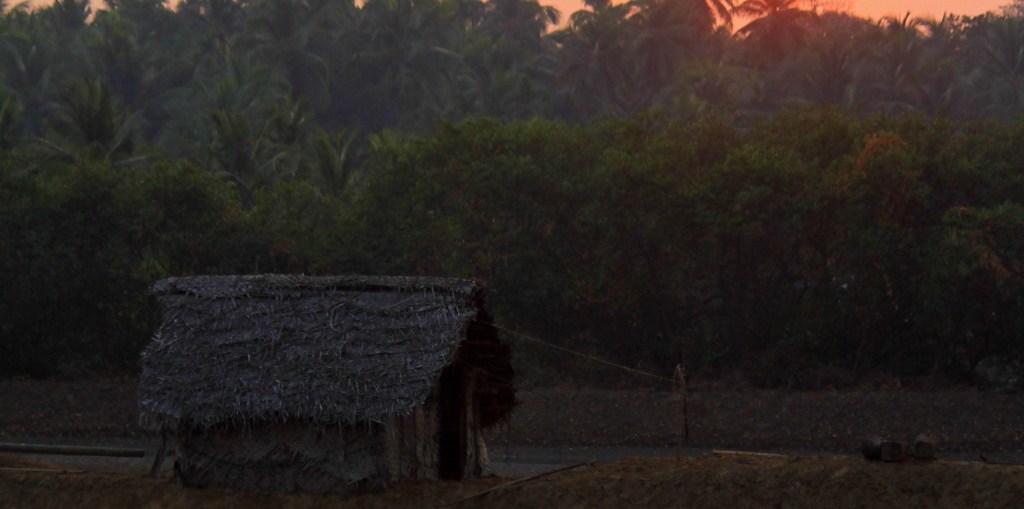 A Village Sunset