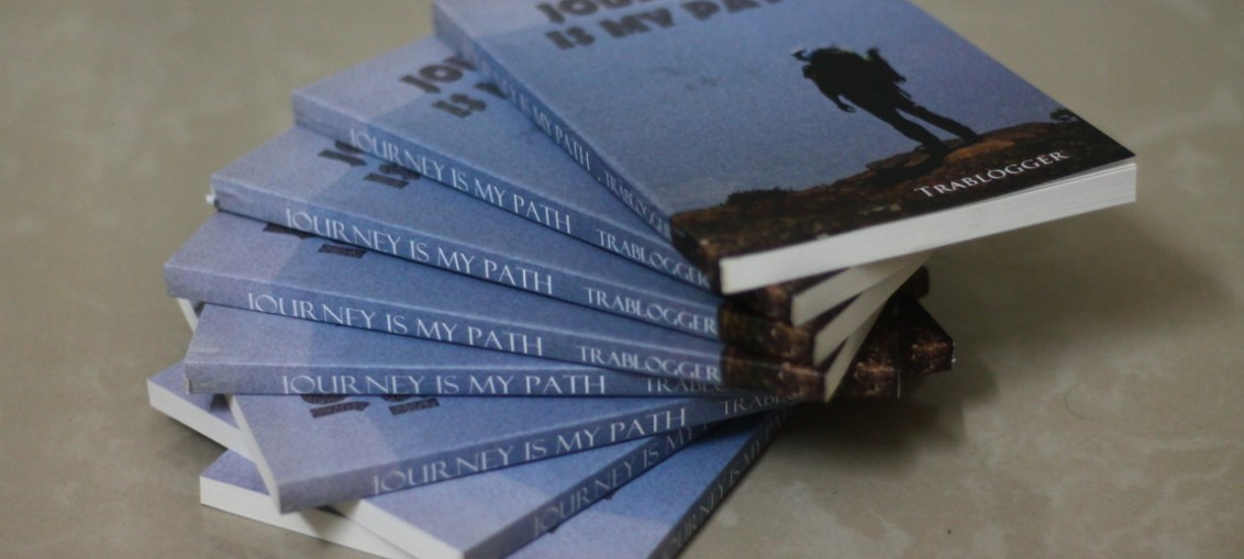 """Journey is m path"" paperback"
