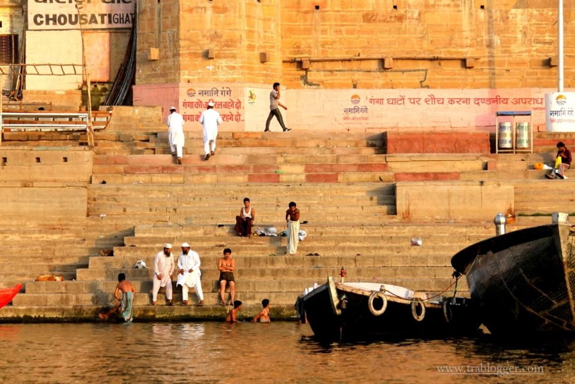 Varanasi socialising