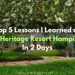 Trablogger's Top 5 Lessons I Learned at Heritage Resort Hampi in 2 Days