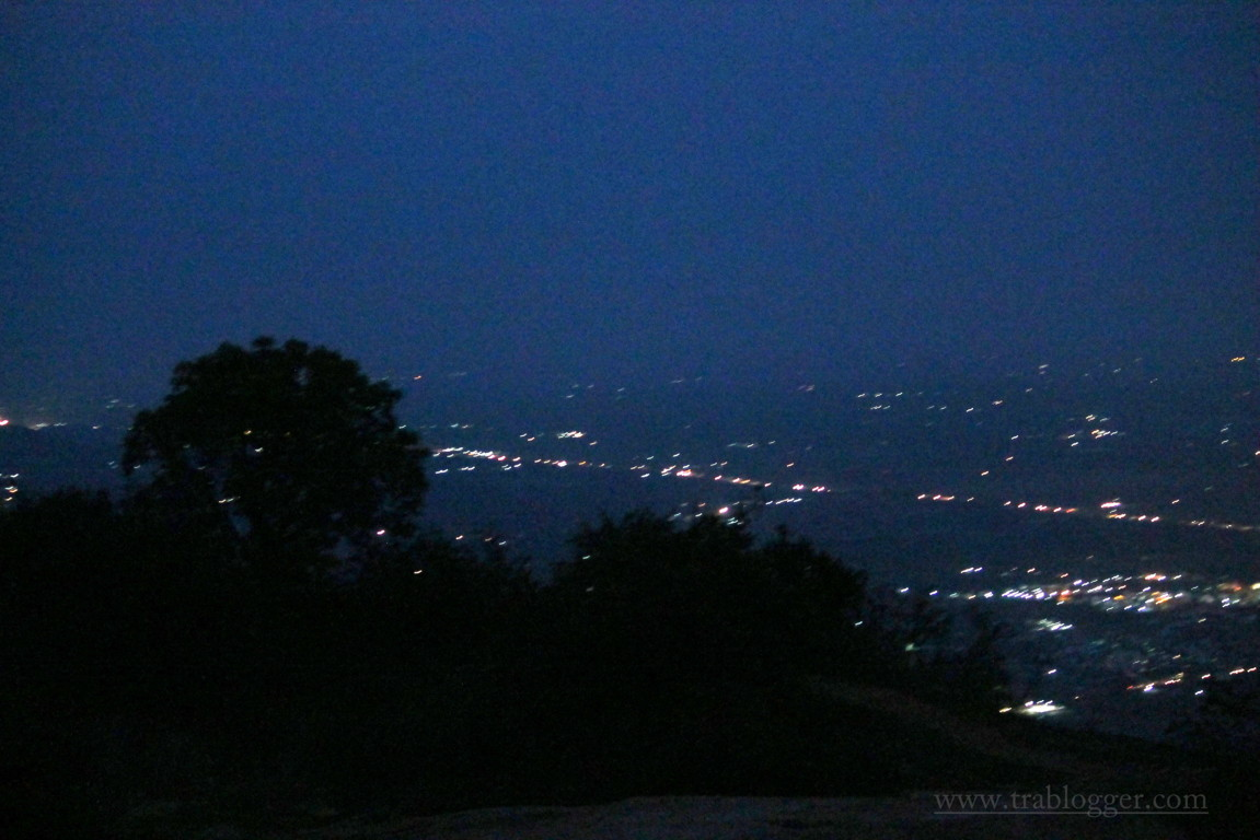 trablogger_ skandagiri night trek