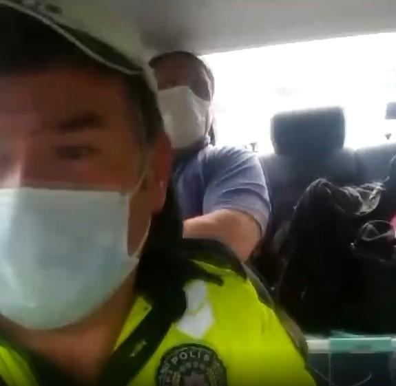 Görme engelli vatandaşı YKS sınavına polis ekipleri götürdü