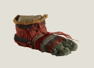 Child's Sock, © Trustees of the British Museum