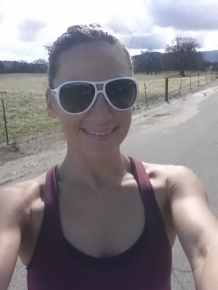 First run in 14 days (since Avalon 50) and this girl is extemely happy!