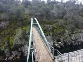 Follow the trail until you get to this bridge -- the scenery is just beautiful!