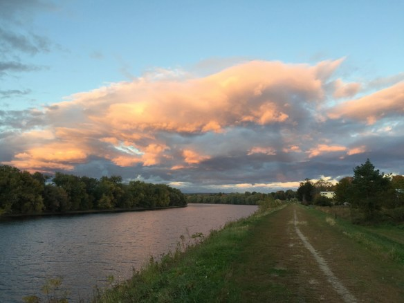 Connecticut River in Hadley