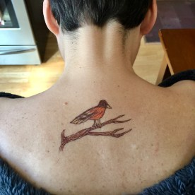 Temporary tattoo — copyright Trace Meek
