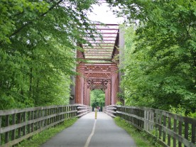 Bridge into Montague — copyright Trace Meek