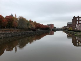 View of a Holyoke canal — copyright Trace Meek