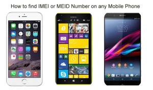 How to find IMEI or MEID Number on any Mobile Phone