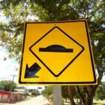 panneau avertisseur de lombada