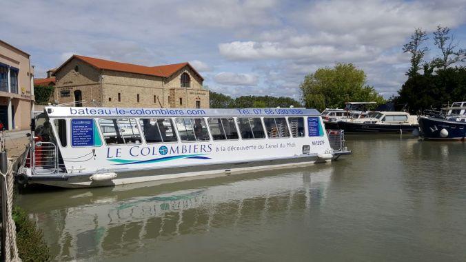 """le bateau """"Le Colombiers"""""""