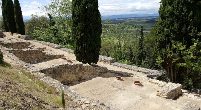 silos sur l'oppidum d'Ensérune