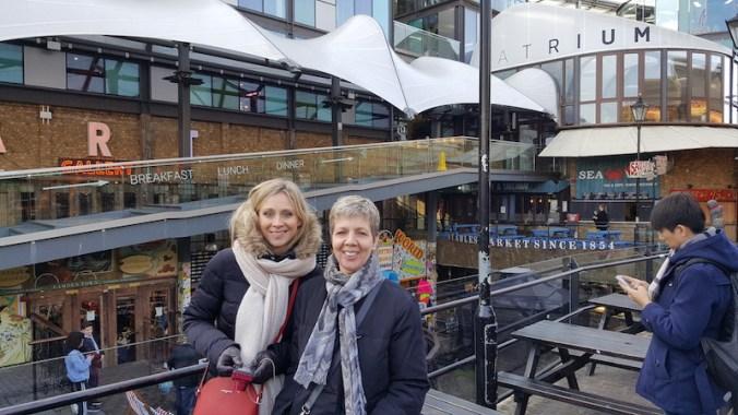 Entrée des marchés de Camden Town
