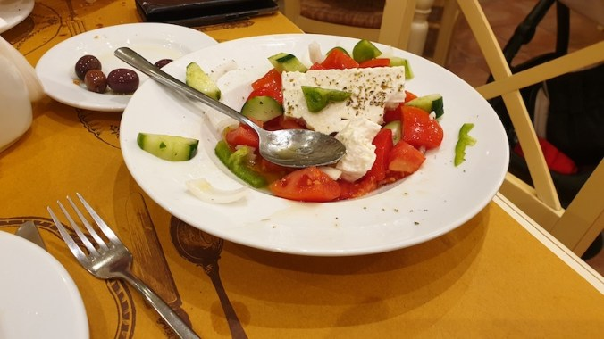 Salade grecque (paysanne (Horiatiki)