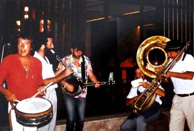 Club Med-Kemer, Turquie-juillet 1984