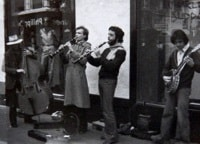 Jazzmen Tea à Union Square - San Francisco, mars 1977