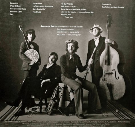 Disque Jazzmen Tea, mars 1977