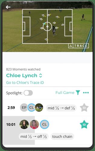 Radar View for Recording Soccer Games