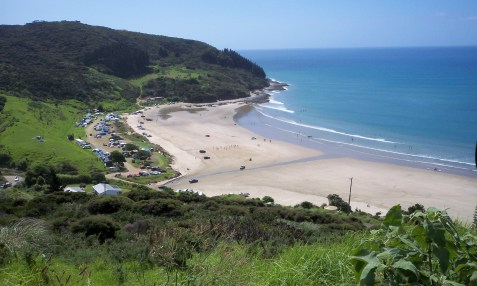 Part of 'Bounty Bay' - doesn't it make you want to go for a swim? Endless summer days...I miss it!