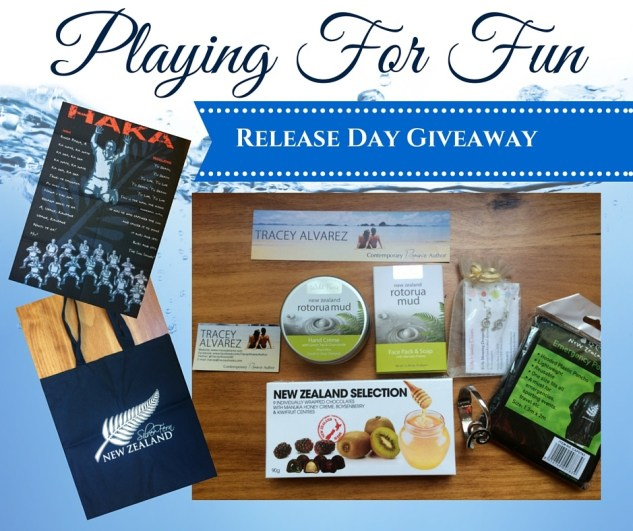 Playing For Fun release day giveaway