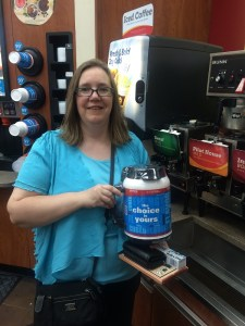 I know I love coffee, but not even I could get through a mug this size!
