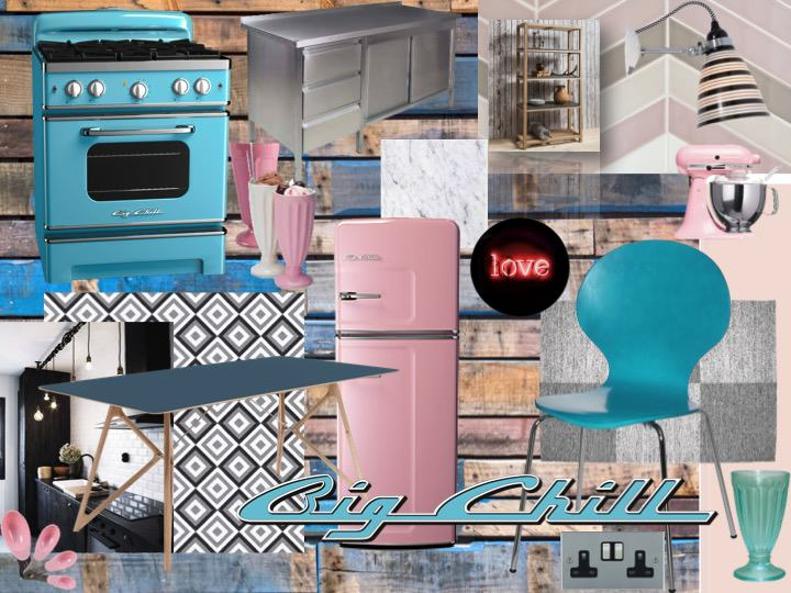 retro kitchens interior design