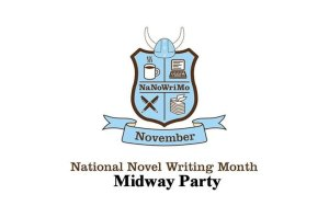 Poster for National Novel Writing Month Midway Party