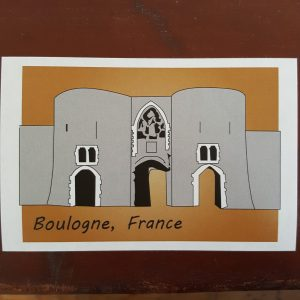 Boulogne sticker