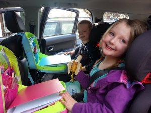 Content & Calm Car lap trays
