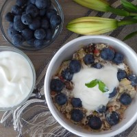 Natural Homemade Muesli - breaking the fast in style