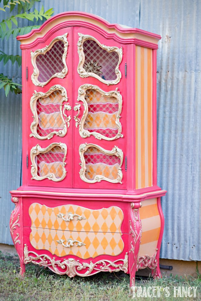 Whimsical Armoire by Tracey's Fancy