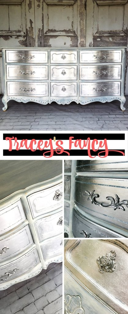 Pin it: Metallic Silver Dresser | Tracey's Fancy