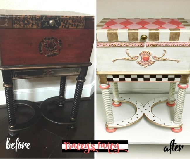 Repurposed Cigar Box Before - After | Tracey's Fancy