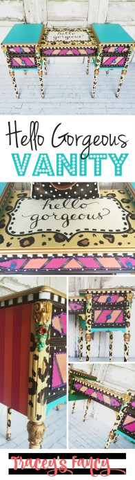 Pin it: Hello Gorgeous Vanity
