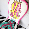 Painted Mermaid Chair by Tracey's Fancy