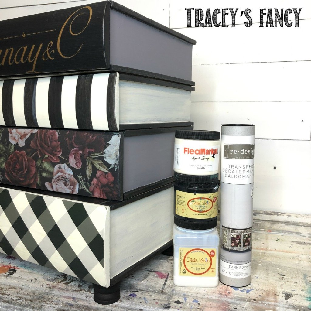 Whimsical Book Table Upcycle by Tracey's Fancy