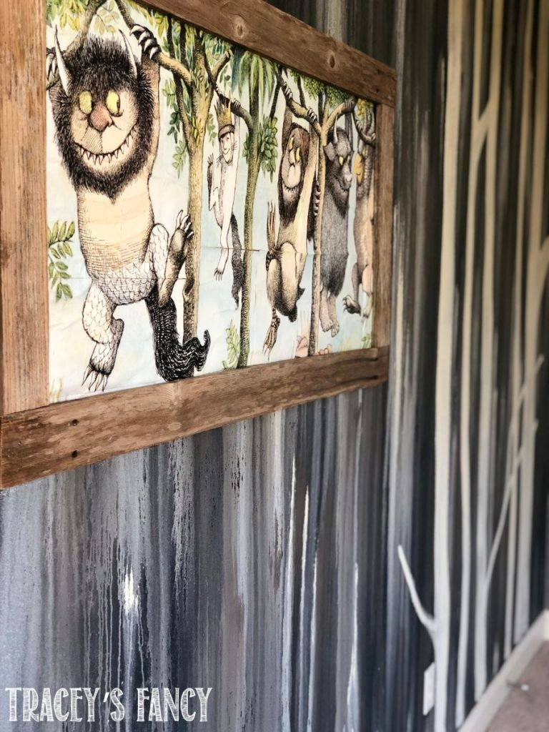 Where the Wild Things Are Wall Mural by Tracey's Fancy