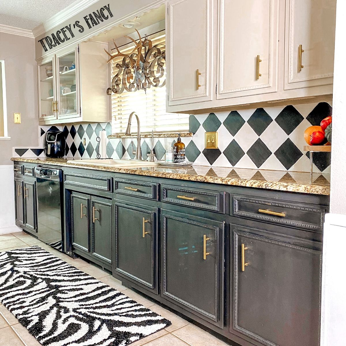 - How To Paint Backsplash Tiles With Chalk Paint - Tracey's Fancy