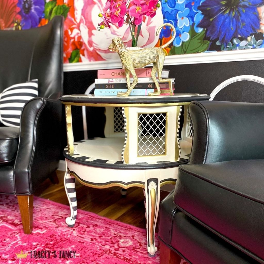 Whimsy end table by Tracey's Fancy