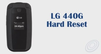 How to Factory Reset / Hard Reset Tracfone LG 440G Flip Phone