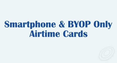 Smartphone and BYOP Only Airtime Cards from Tracfone
