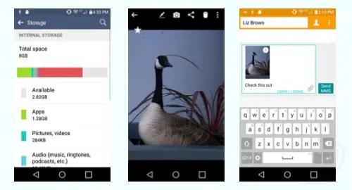 Tracfone LG L44VL Rebel LTE screenshot