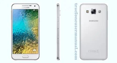 Tracfone Samsung Galaxy E5 S978L Front Side back