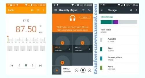 Alcatel Pixi Bond A573VC screenshot