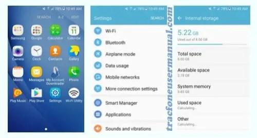 TracFone Samsung Galaxy Luna S120VL screenshot