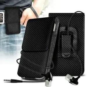Alcatel PIXI Unite Belt Clip Holster Case by ONX3 Black