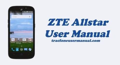 TracFone ZTE Allstar Z818L User Manual