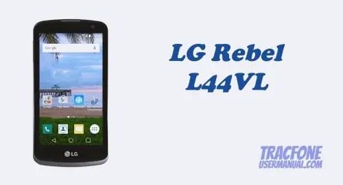 TracFone LG Rebel LTE L44VL