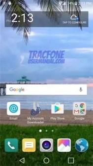 TracFone LG Fiesta Home 1